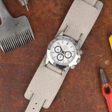 Sellier Geneva Grey mit Bandunterlage