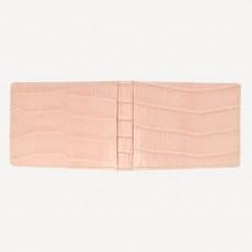 Portmonnaie Mini Card Alligator FC matt rosé