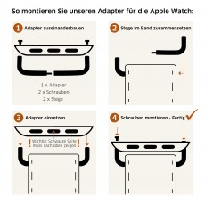 Adapter für Apple Watch