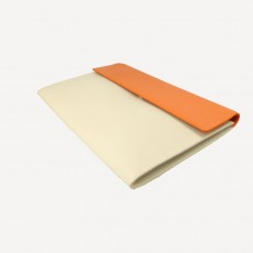 Collegemappe Sellier orange/winterweiss No.7