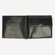 Portmonnaie Clip Card Coin Shell Cordovan schwarz