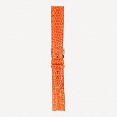 Eidechse Chronogrande Handnaht Kontrastnaht L 18/16mm Orange