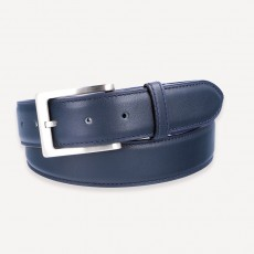 Vacchetta Cowhide Belt dark-blue
