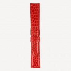 Krokodil Pearls brillant L 20/18mm Swiss Red