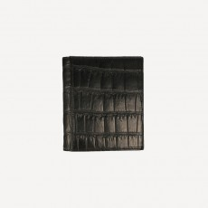 Portmonnaie Card Alligator FC matt schwarz