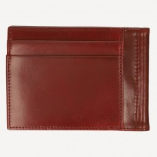 Portmonnaie Dollerclip Exclusive Shell Cordovan oxblood