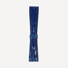 Alligator Pearls brillant M 22/16mm Brillantblau