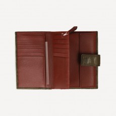 Portemonnaie Universal Kroko Dolce dunkelbraun
