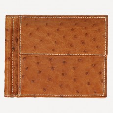 Portmonnaie Clip Card Coin Strauss cognac
