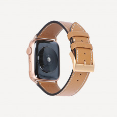 Riva Cupertino Handgenäht für Apple Watch
