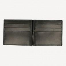Portemonnaie Dollarclip Boxcalf schwarz