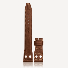 Large Aviator Watch Strap with Rivets